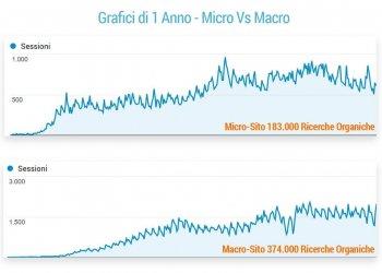Micro vs Macro Traffico Siti Web di Nicchia e Portali Grandi