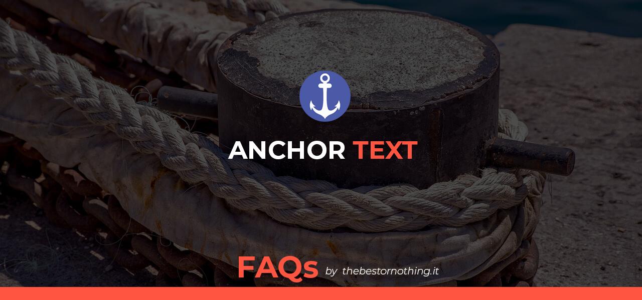 Importanza degli anchor text per i backlinks. Manipolativi vs Brand